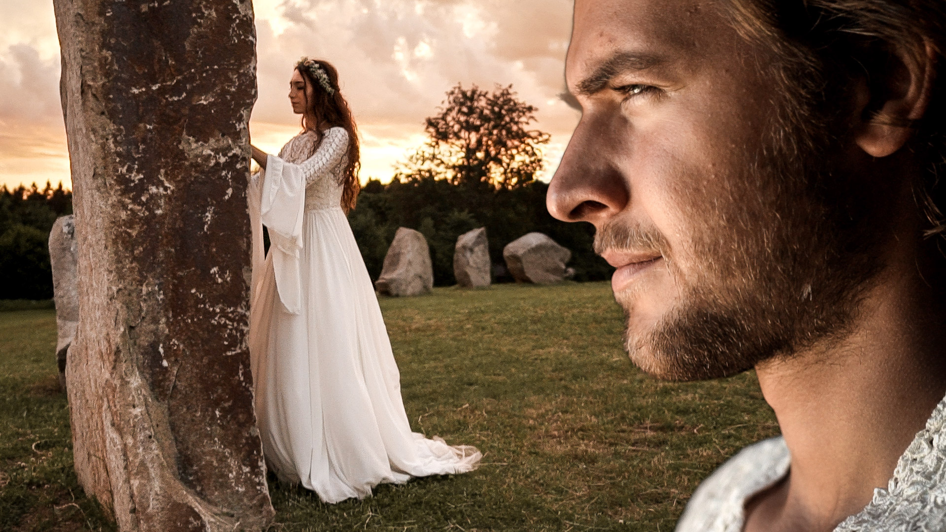 Nejkrásnější svatba v Kamenném kruhu Druidů a Letohrádku sv. Vojtěch v Počátkách