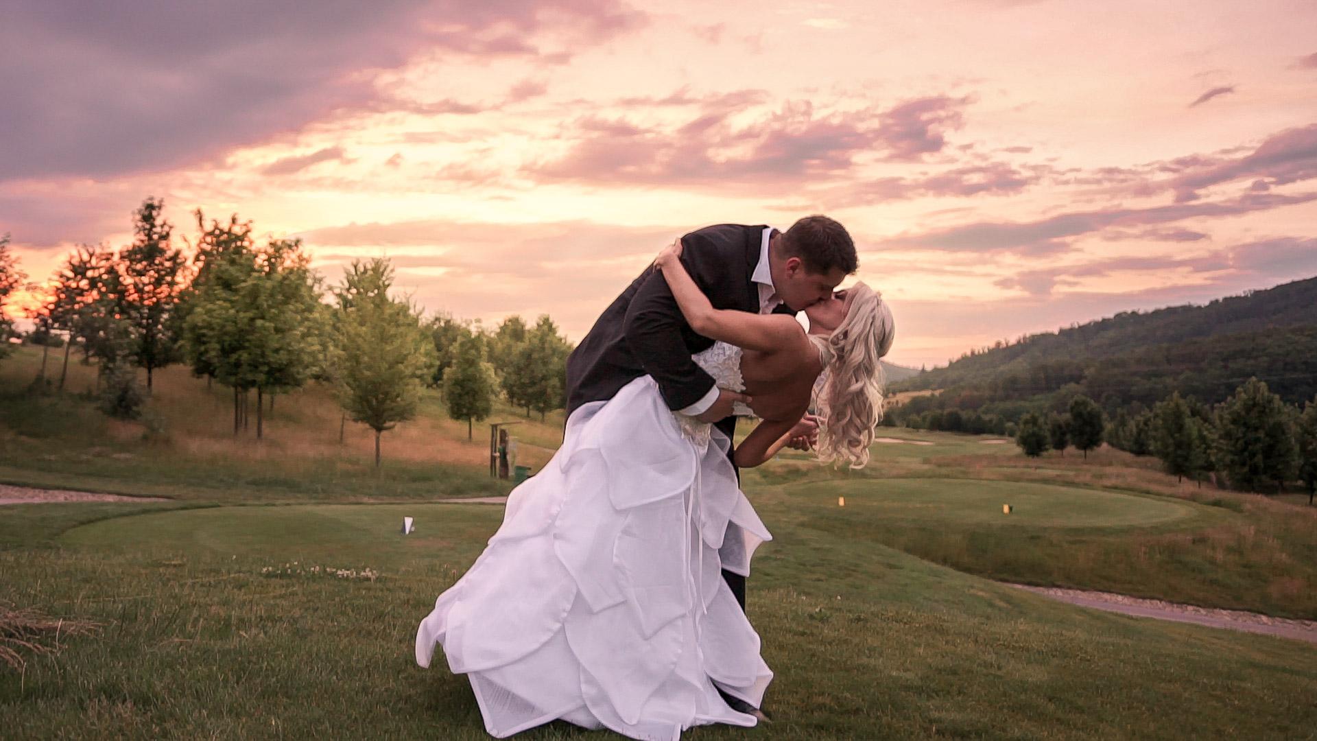 Luxusní svatba u Brna v golfovém resortu Kaskáda