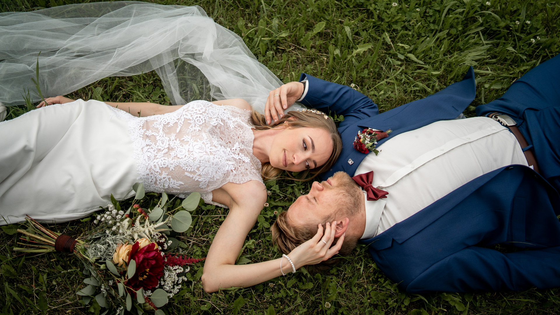 Nádherná svatba na statku Kloubek u Českého Krumlova v Jižních Čechác