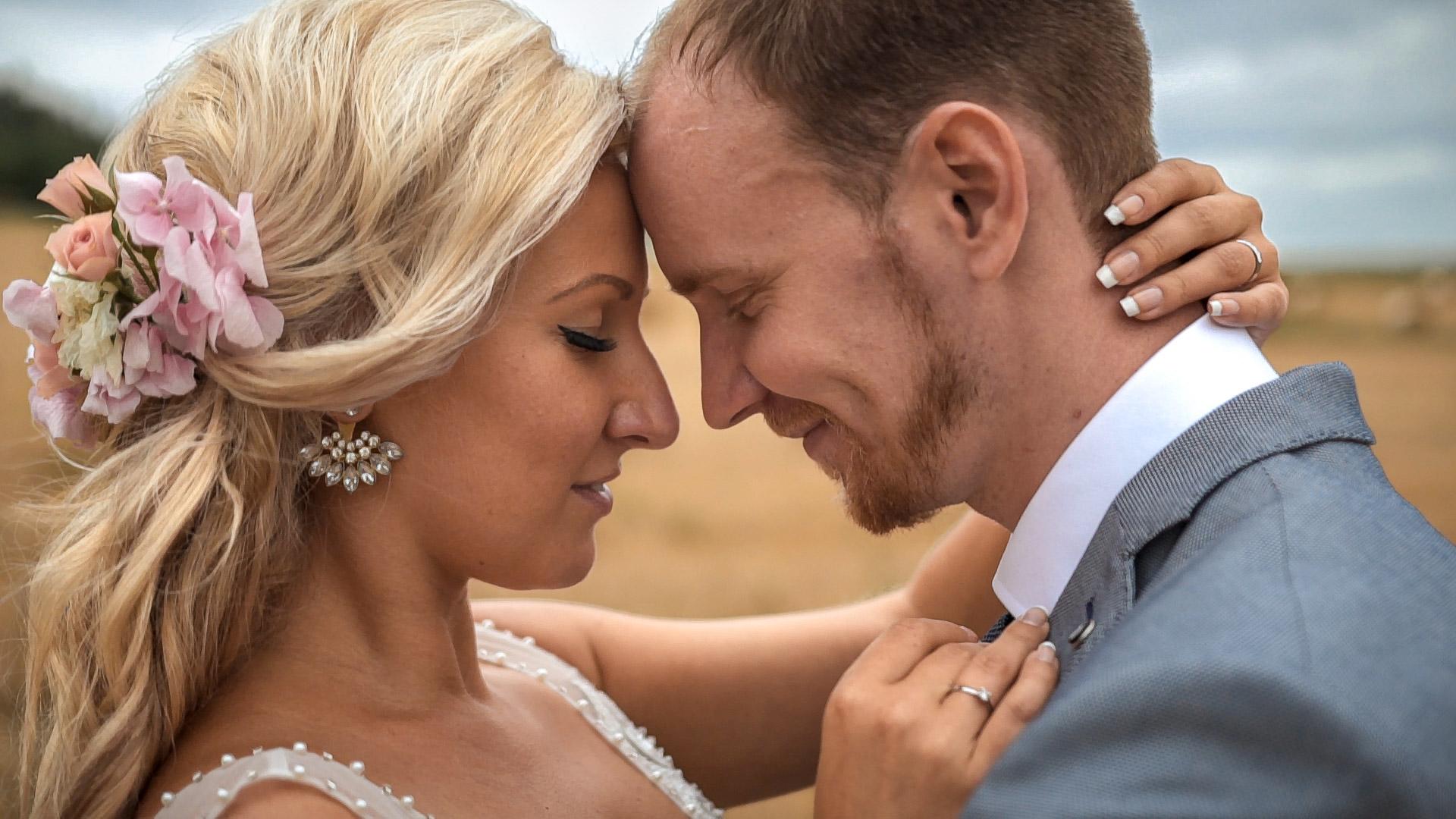 Nádherná svatba pod bájnou horou Blaník na Statku Blaník u Benešova