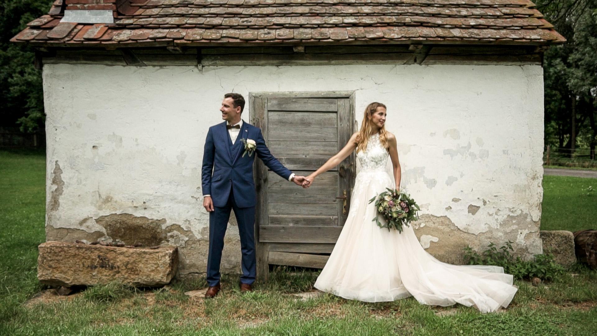 Svatební video ze svatby v Třeštickém mlýně na Vysočině.